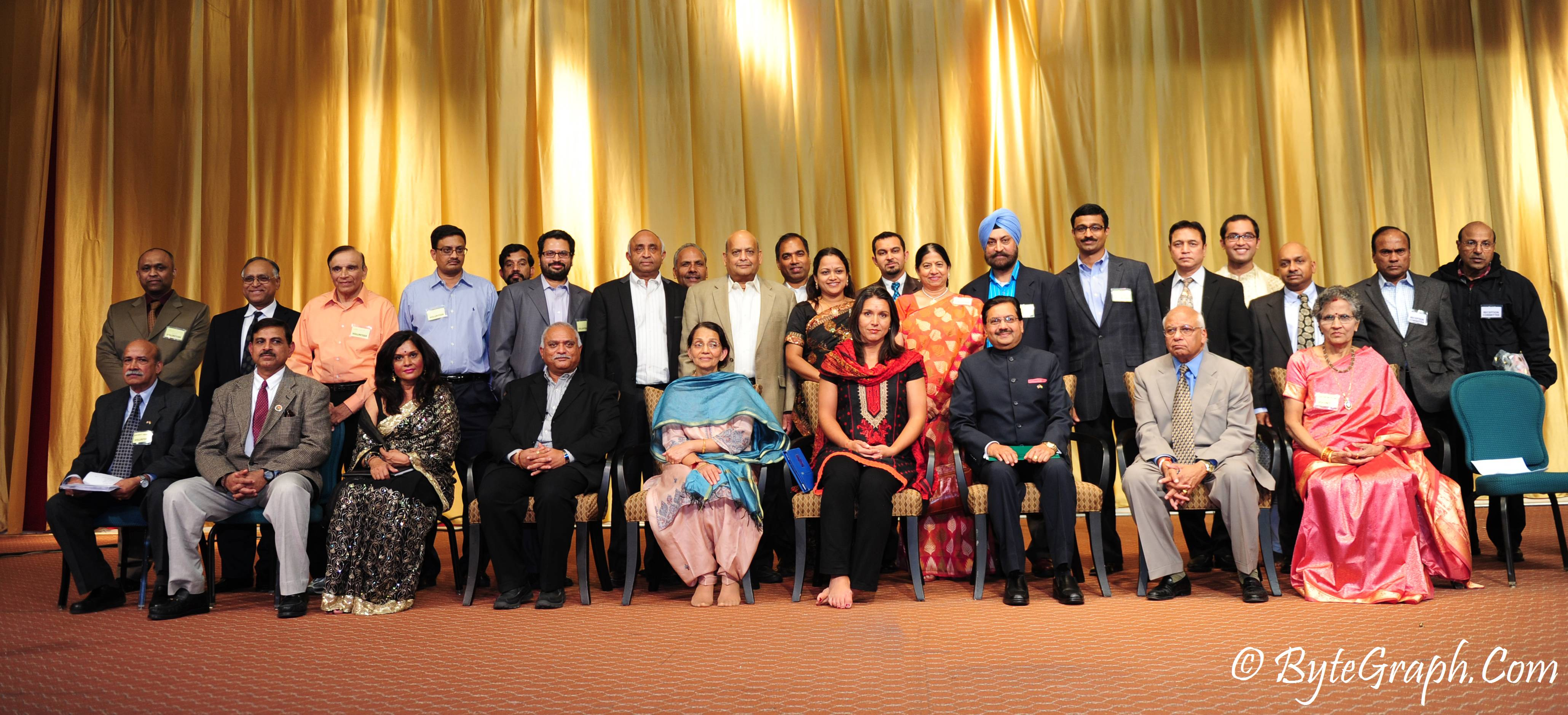 USHA Event - Community Leaders with Hon. Tulsi Gabbard and Consul General
