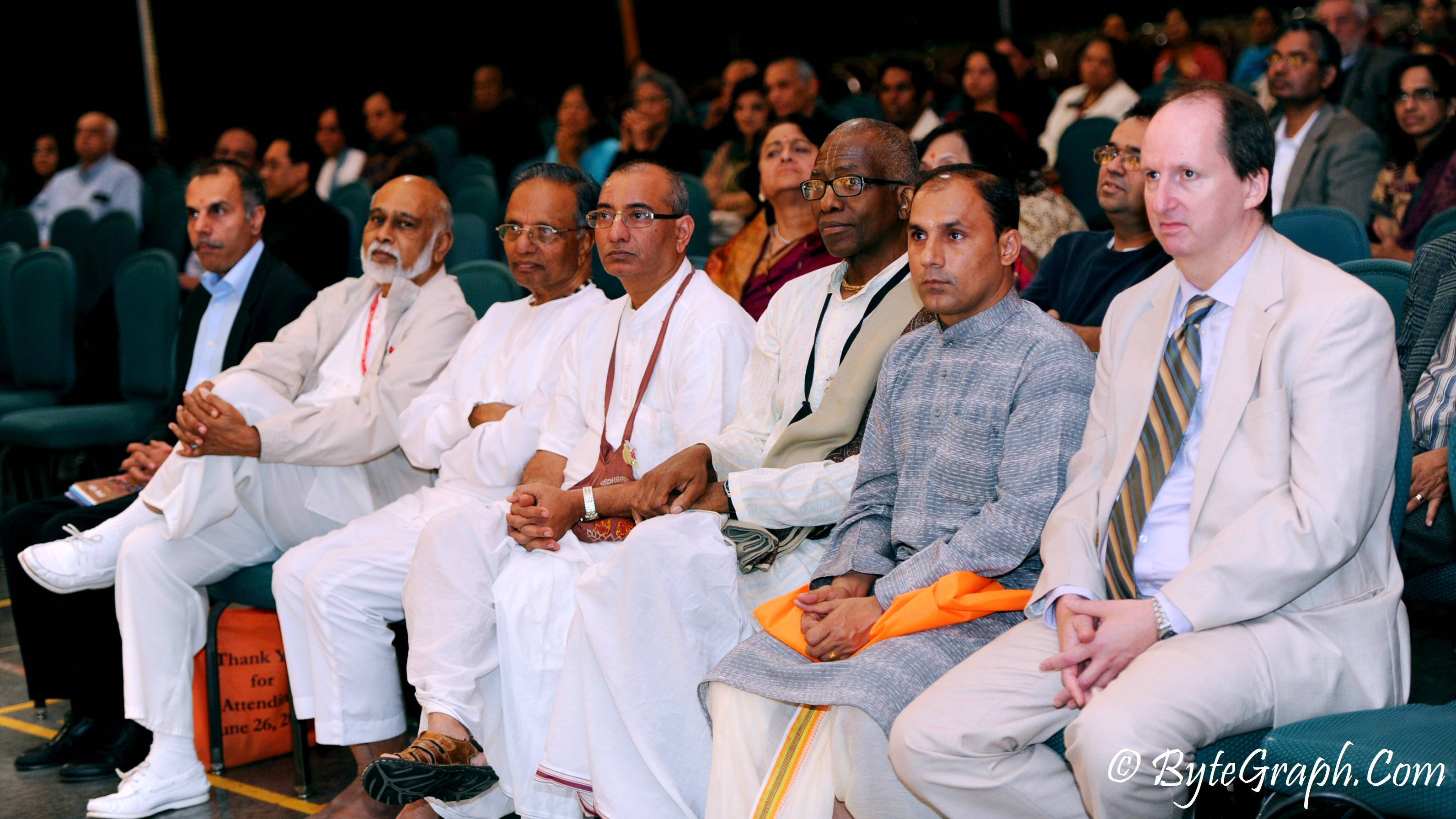 USHA Event - View of Spiritual Leaders seated in the audience