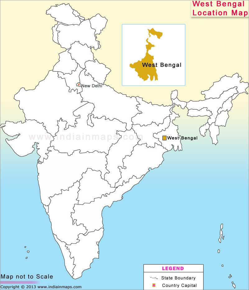 west-bengal-location-map