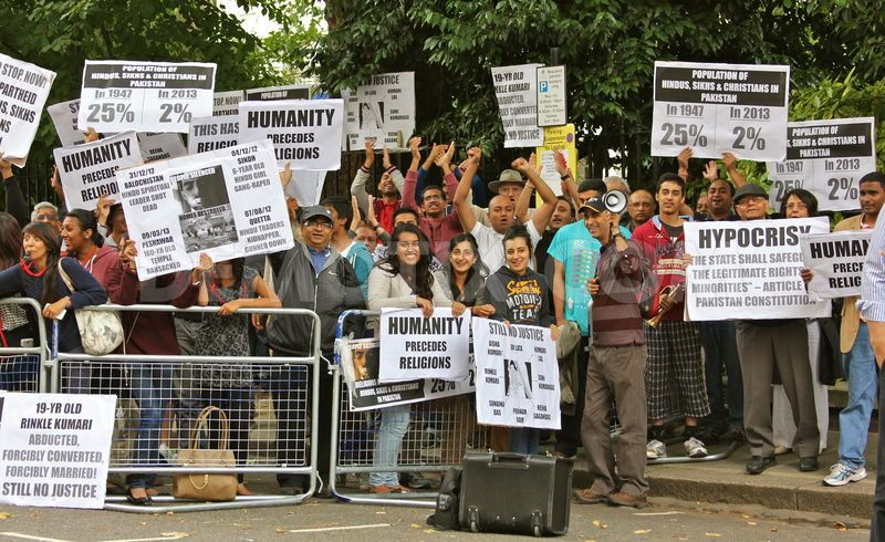 Pak Embasy protest 4