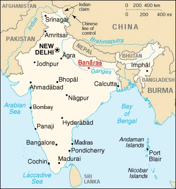 in-map-banaras