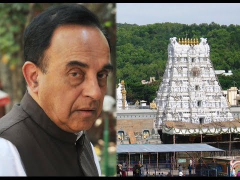 World's richest temple, revered by millions should not be managed by the Government – Swamy