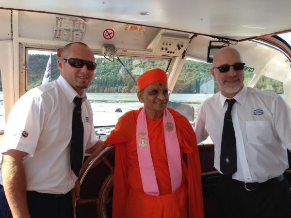 On board Cumbria I