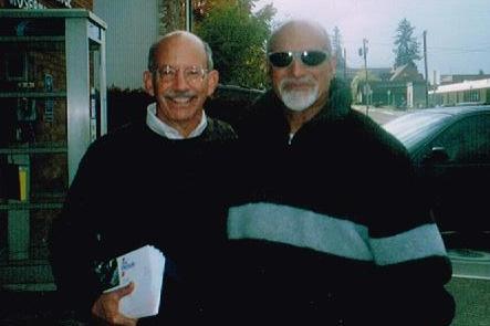 Rep. Peter Defazio with Dr. Jagan Kaul cr