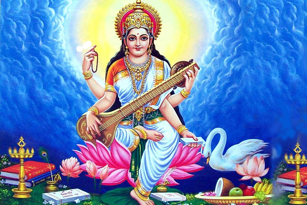 Saraswati-vandana-wallpaper