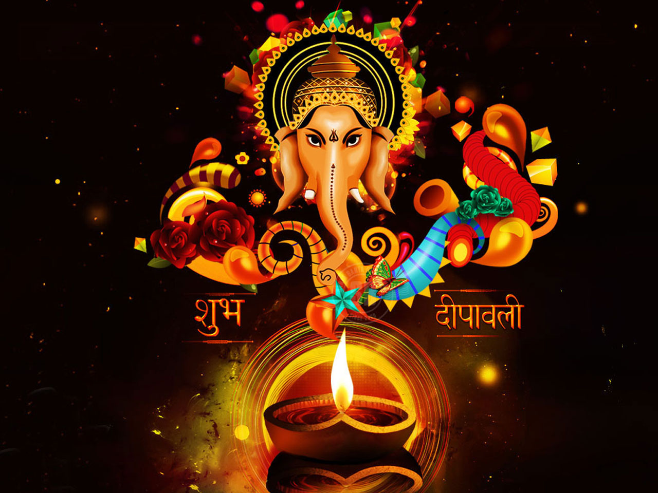 Shubh dipawali 2016 wallpapers