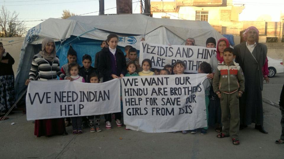 Yezidis and Hindus - long lost brothers in a historic