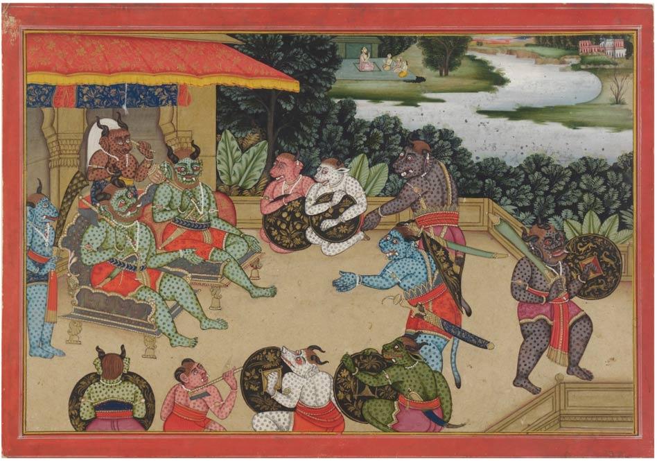 Council-at-Lanka-ramayana