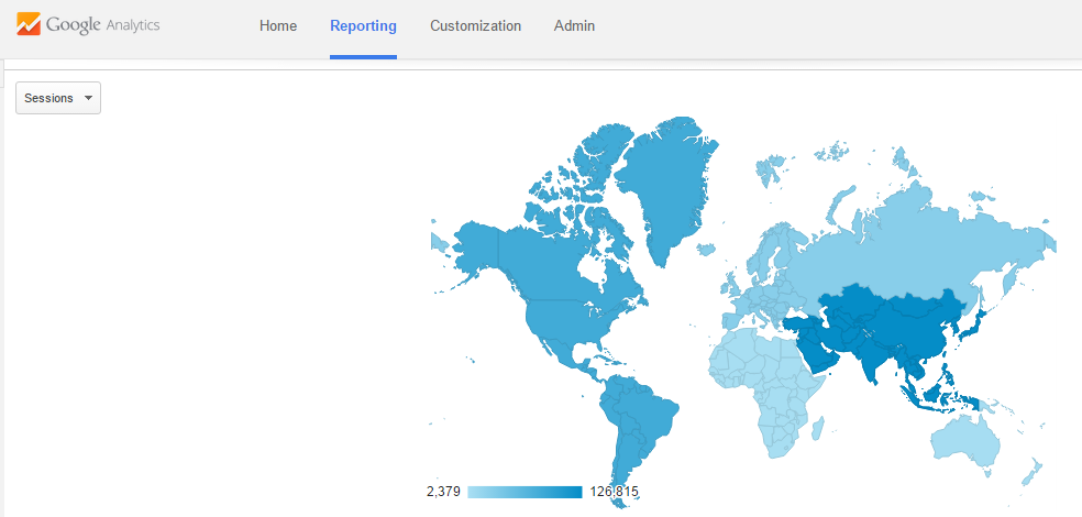 Per Google Analytics World Hindu News Global Outreach Exceed - How many hindus in the world